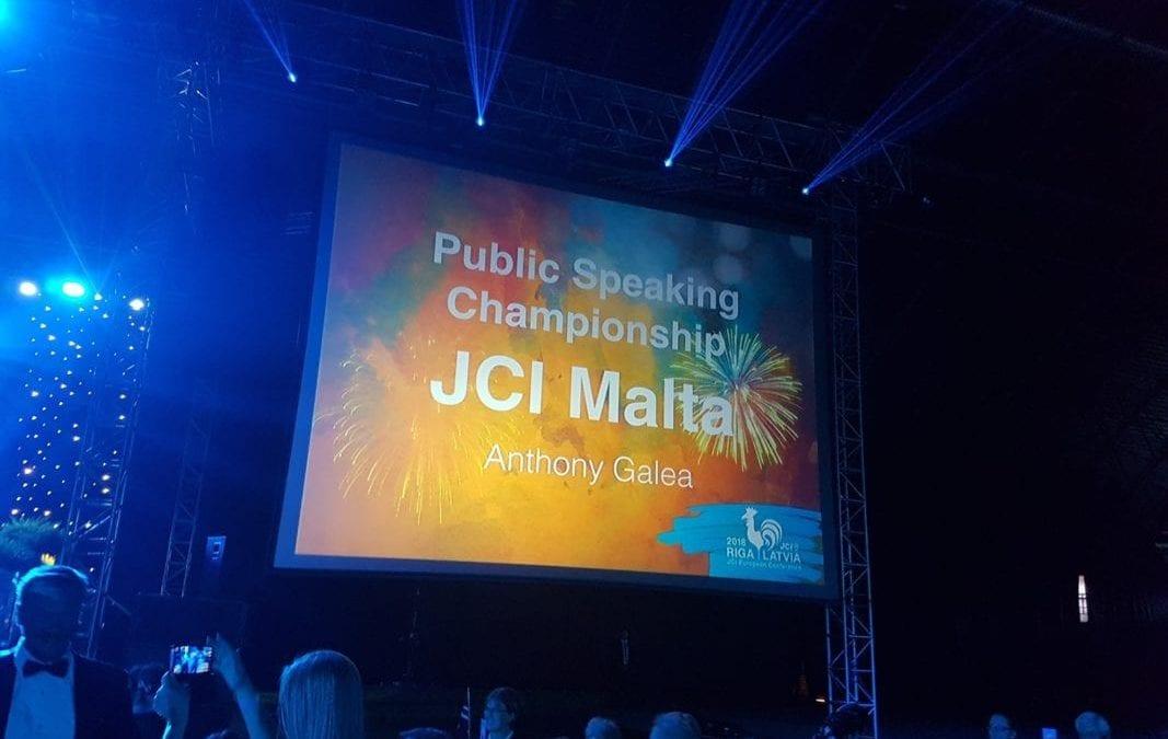 Malta Crowned European Champion in Public Speaking in Riga