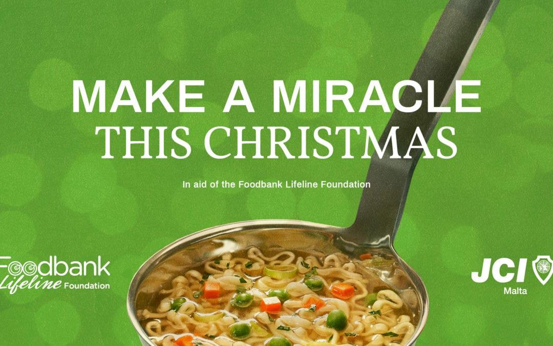 JCI Malta supports the Foodbank this winter