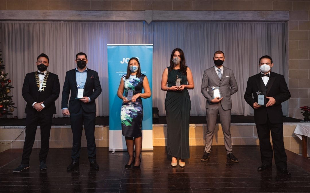 JCI Malta awards the Ten Most Outstanding Young People for 2020