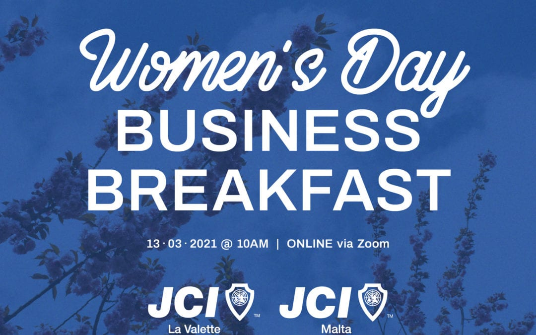 JCI Malta celebrates Women's Day with online Business Breakfast